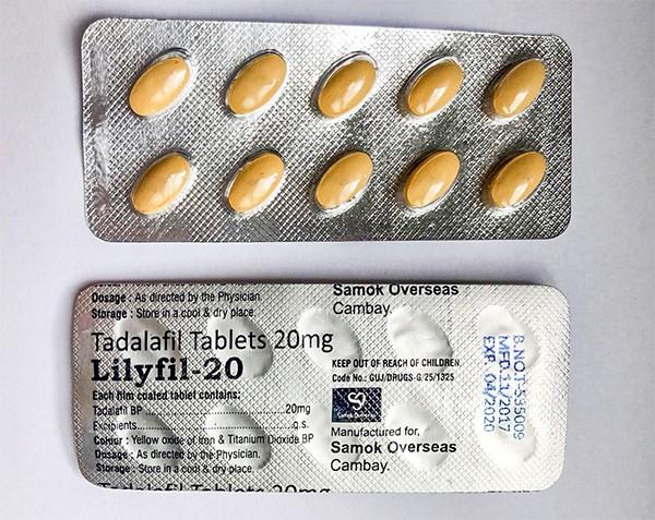Generic Cialis (Tadalafil) 20 MG (Lylifil)