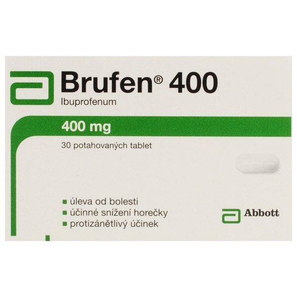 Générique Brufen (Ibuprofène) 400 mg