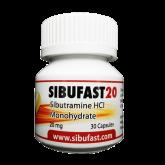 Generic Reductil Sibutramine 20 mg. SIBUFAST