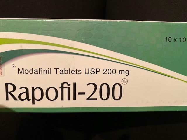Modvigil Modafinil Rapofil 200 mg