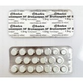 Bromazepam by Hemofarm 1.5 mg
