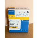 Generic Reductil (Meridia, Ectivia) 15 mg - packing 90 pills