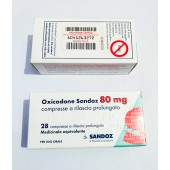 Oxycodon mg. 80  Accord  T